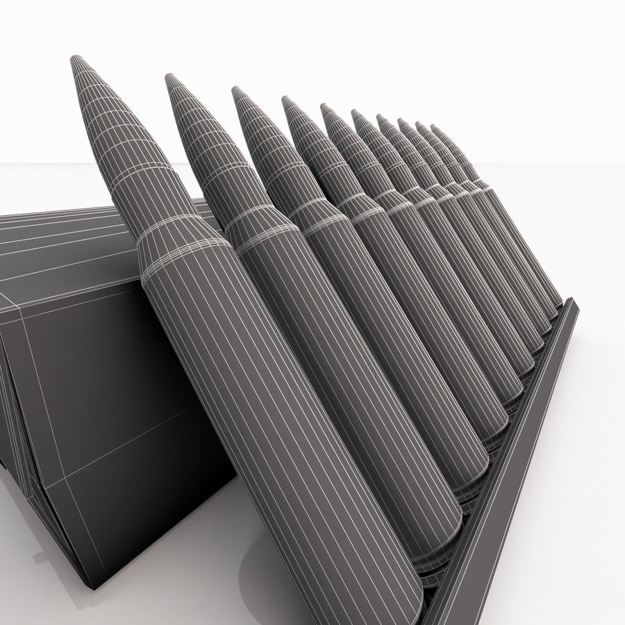 Ammo Box royalty-free 3d model - Preview no. 12