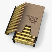 Boîte à munitions 3d model
