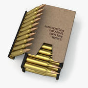 Ящик с боеприпасами 3d model