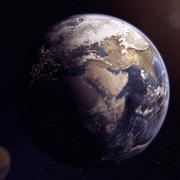 Planeta Tierra modelo 3d