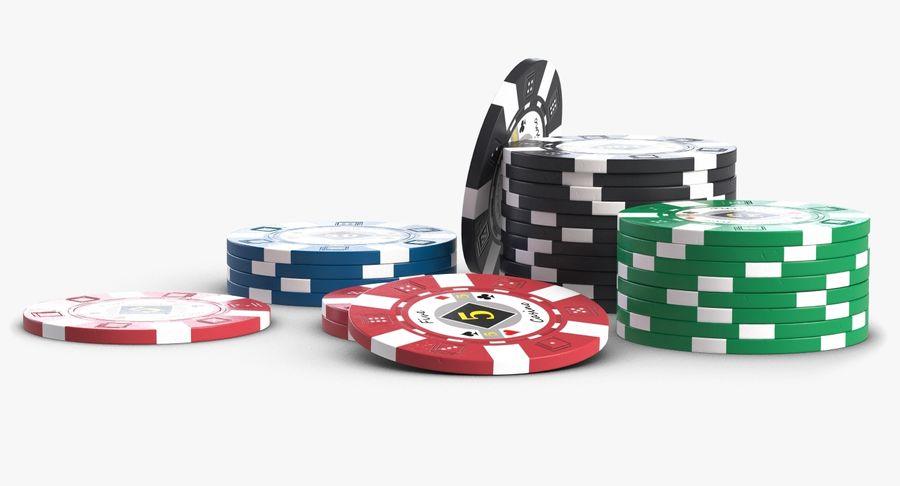 Żetony do kasyna 1 royalty-free 3d model - Preview no. 2