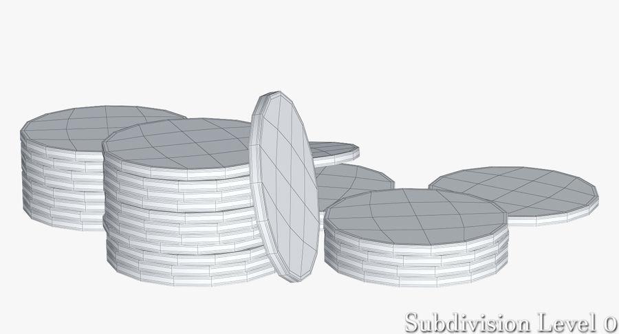 Żetony do kasyna 1 royalty-free 3d model - Preview no. 11