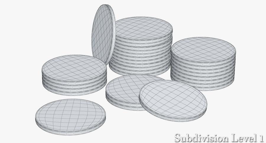 Żetony do kasyna 1 royalty-free 3d model - Preview no. 8