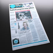 New Usa To Day newspaper 3d model