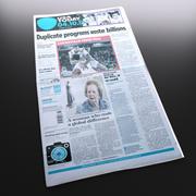 Ny USA-tidning 3d model