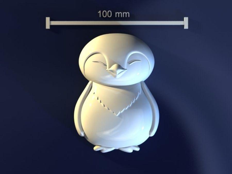 企鹅 royalty-free 3d model - Preview no. 1