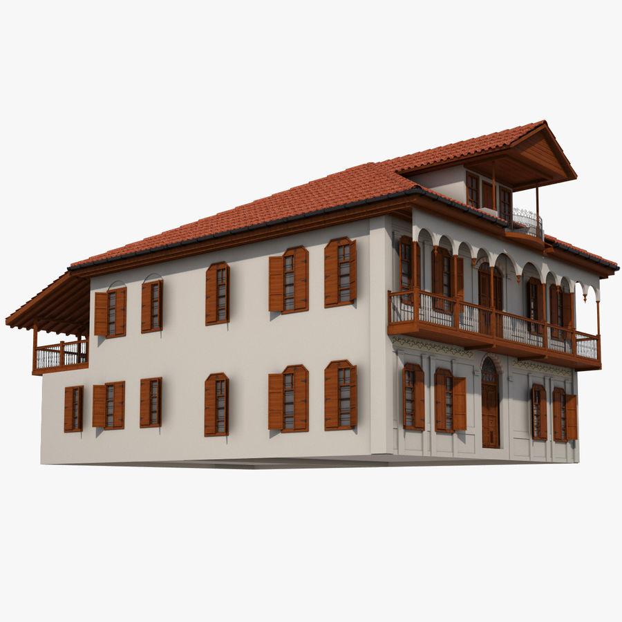 Traditional Ottoman Turkish House Adana 3d Model 20 Max Free3d