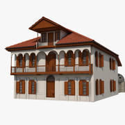 Casa tradizionale ottomana (turca) ADANA 3d model