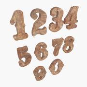 Zahlen 3d model