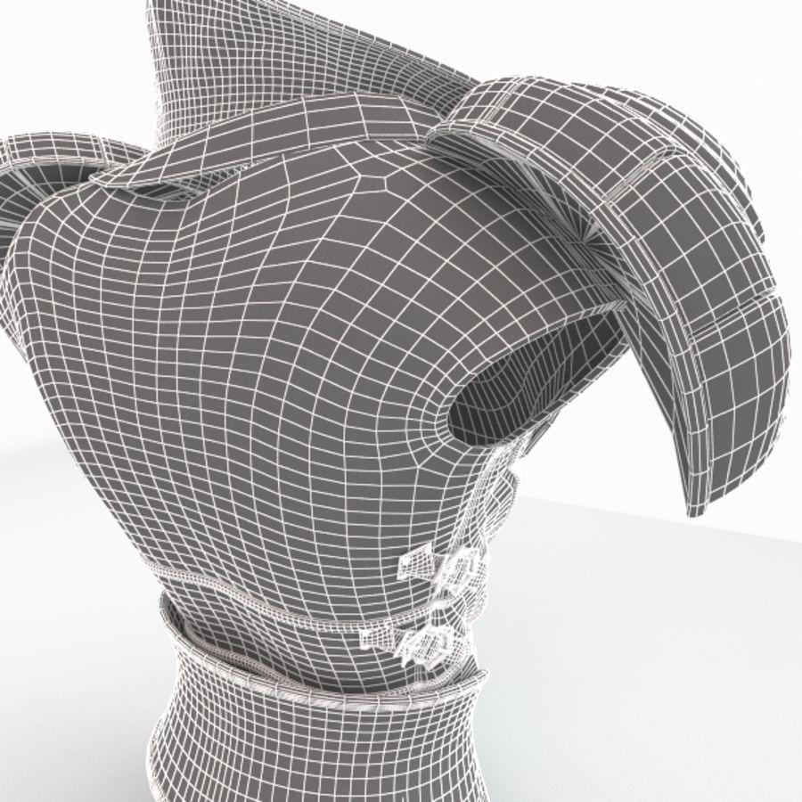 Armadura royalty-free modelo 3d - Preview no. 10