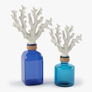 Słoik Z Zestawem Koralowym 3d model