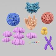 célula 3d model