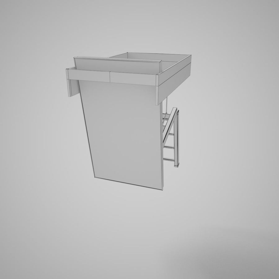 Stair Fakro LTK Thermo royalty-free 3d model - Preview no. 22