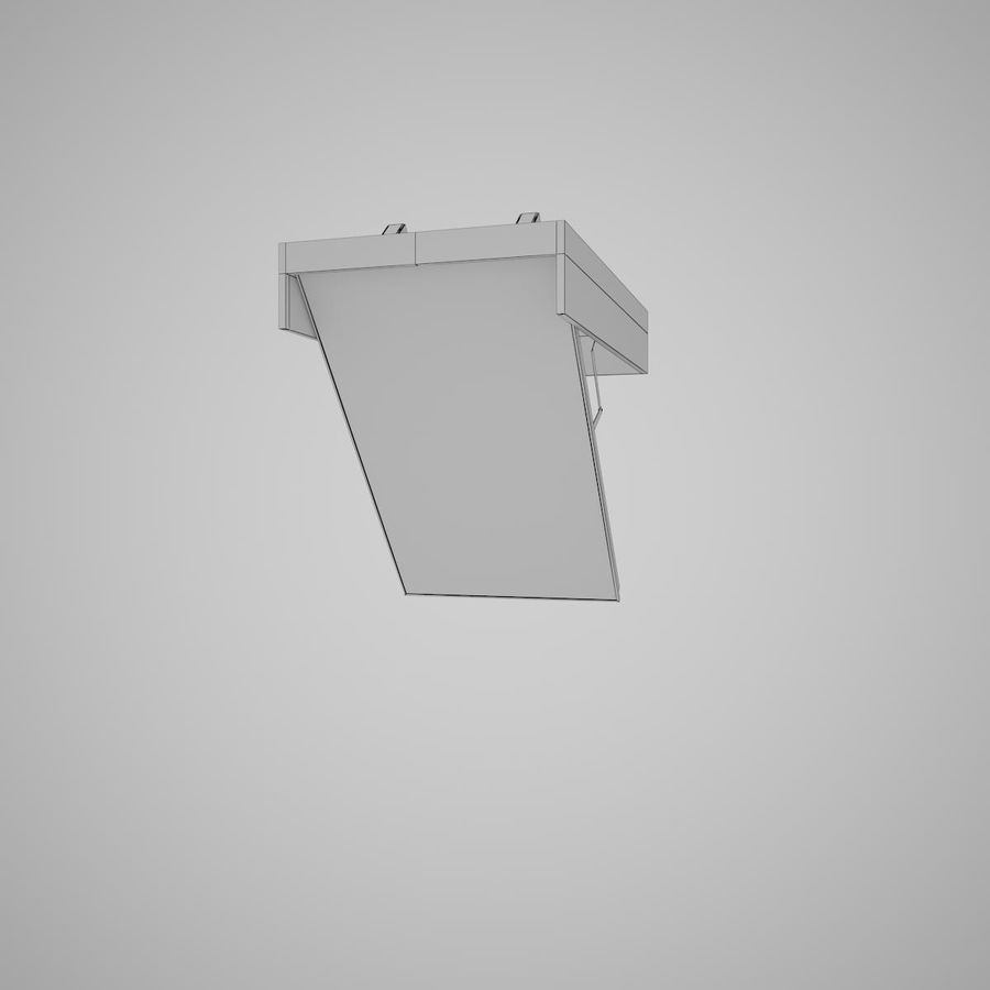 Stair Fakro LTK Thermo royalty-free 3d model - Preview no. 21