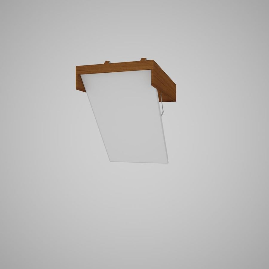 Stair Fakro LTK Thermo royalty-free 3d model - Preview no. 9