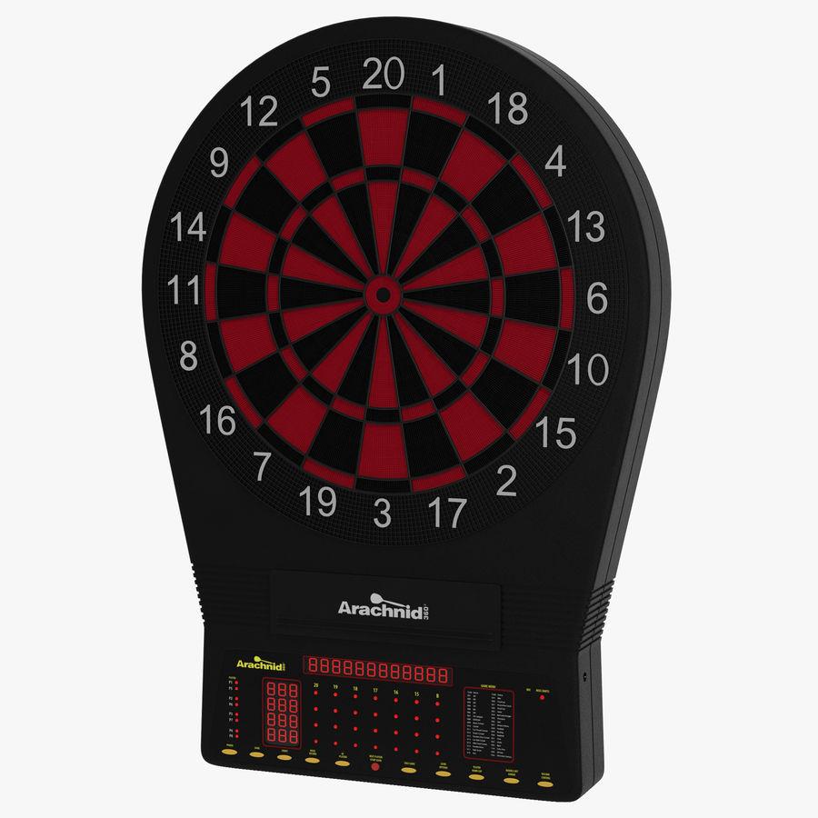 Electronic Dartboard royalty-free 3d model - Preview no. 1