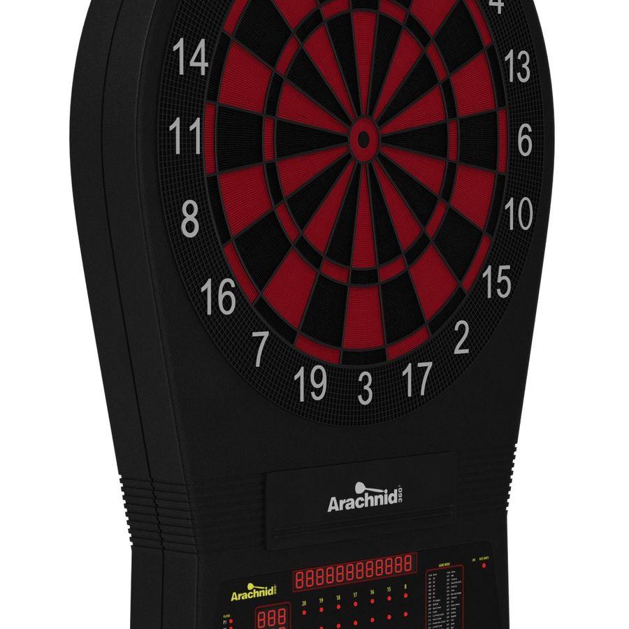 Electronic Dartboard royalty-free 3d model - Preview no. 8