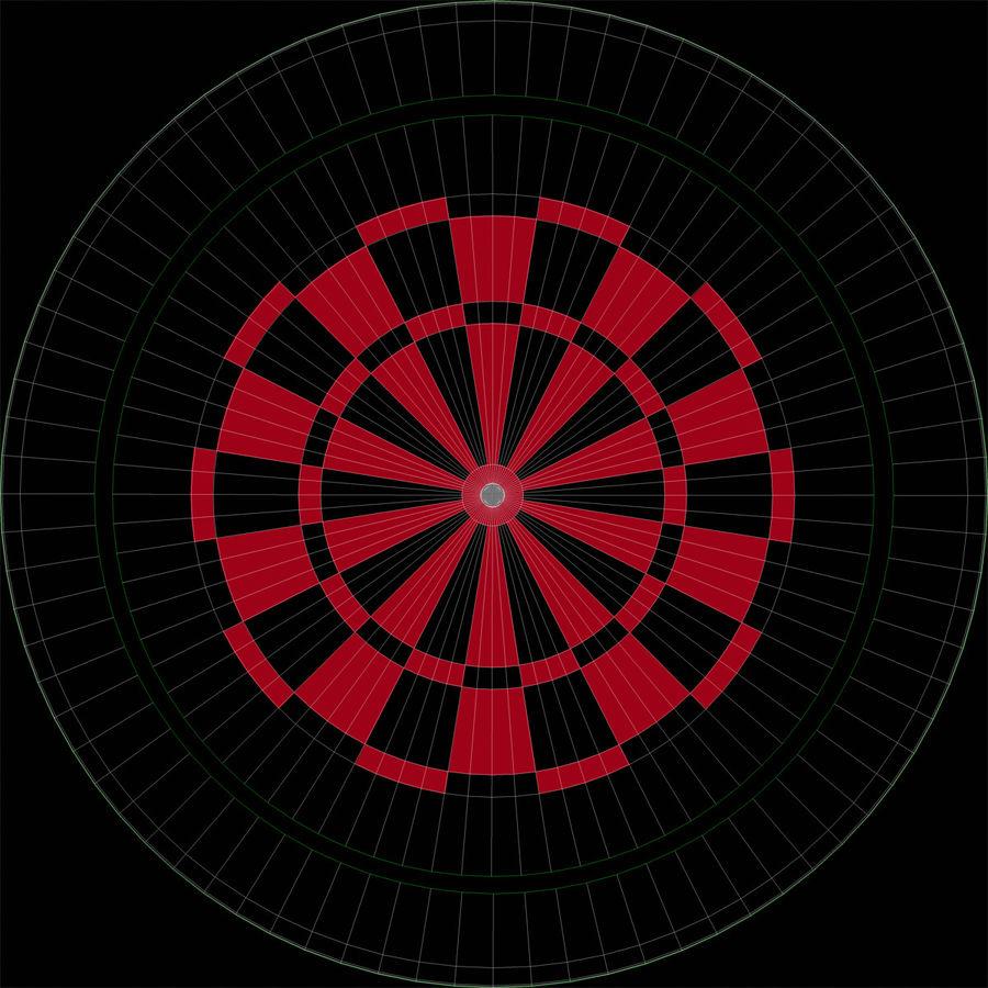 Electronic Dartboard royalty-free 3d model - Preview no. 12
