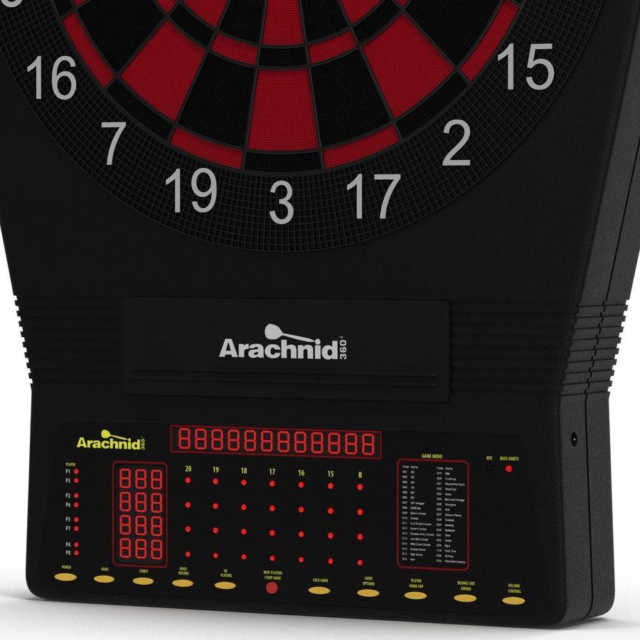 Electronic Dartboard royalty-free 3d model - Preview no. 7