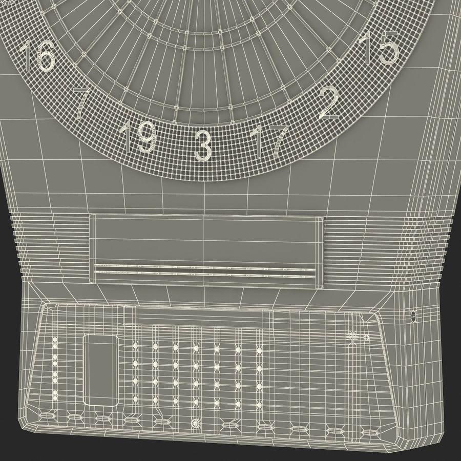 Electronic Dartboard royalty-free 3d model - Preview no. 21