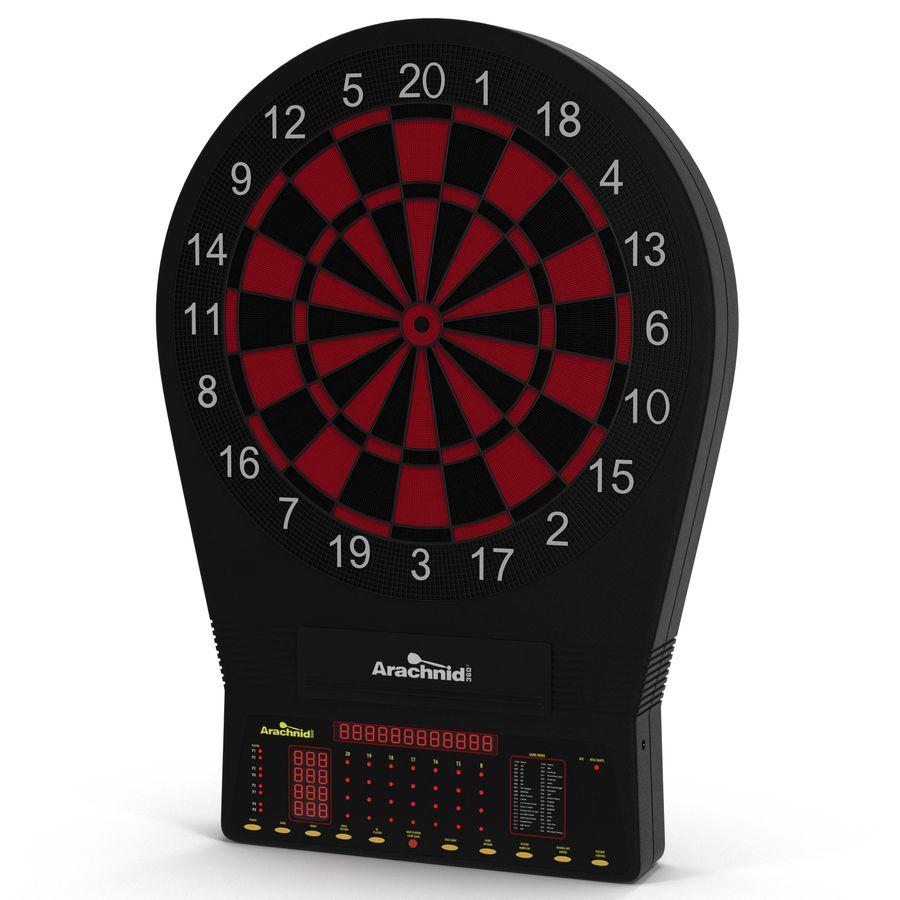 Electronic Dartboard royalty-free 3d model - Preview no. 2
