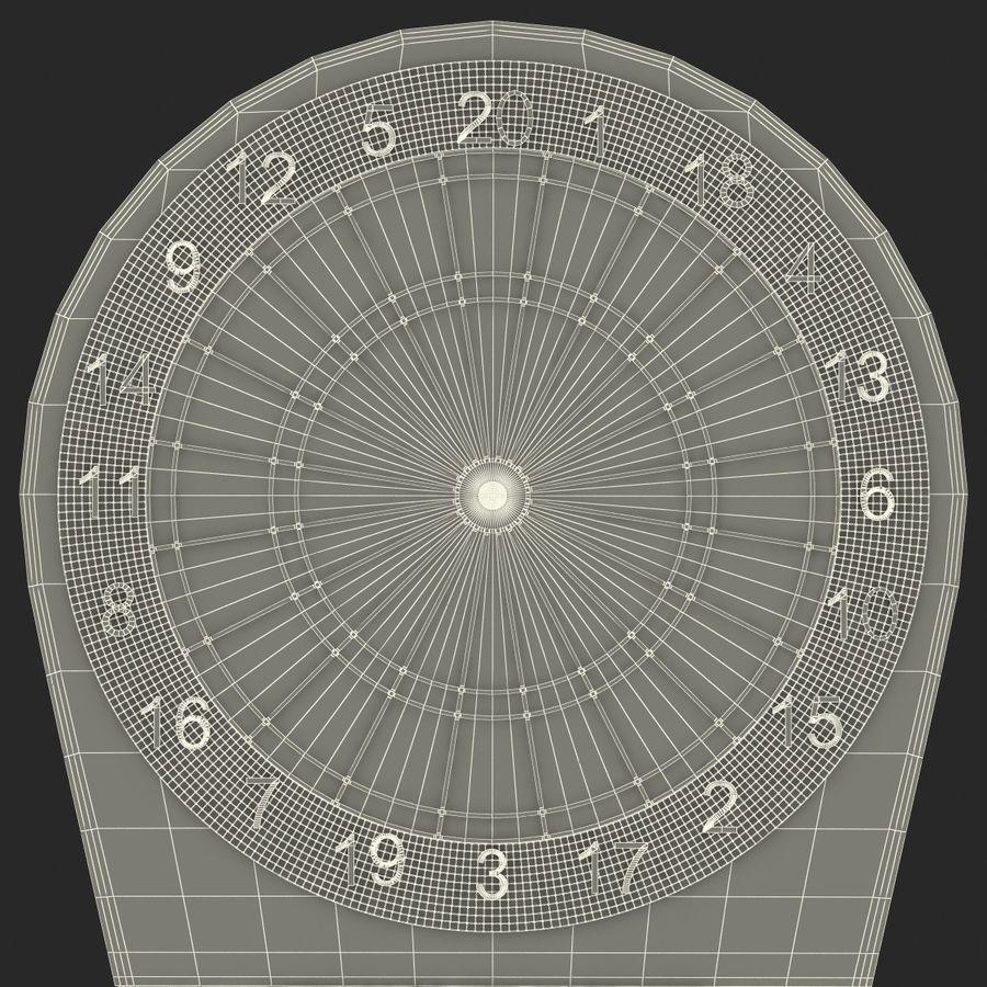 Electronic Dartboard royalty-free 3d model - Preview no. 23