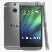 HTC One M8 White Modèle 3D 3d model