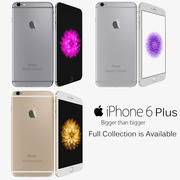 모든 색상의 Apple iPhone 6 Plus 3d model