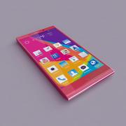 BLU Pure XL Pink 3d model