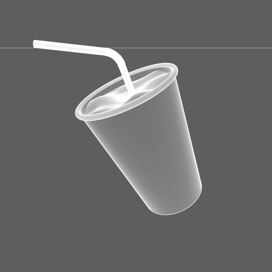 Milkshake royalty-free 3d model - Preview no. 5