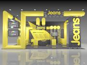 Booth 4 3d model