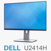 戴尔UltraSharp 24 Monitor U2414H 3d model