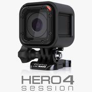 GoPro HERO 4 Oturumu 3d model