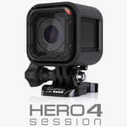 Sessione GoPro HERO 4 3d model