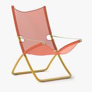 La sedia a sdraio Snooze 3d model