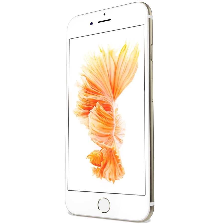 Apple iPhone 6s Złoty royalty-free 3d model - Preview no. 7
