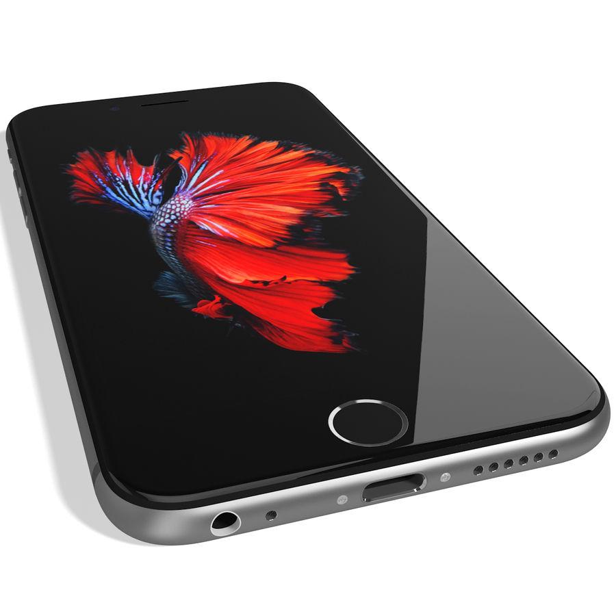 Apple iPhone 6s Espaço Cinzento royalty-free 3d model - Preview no. 12