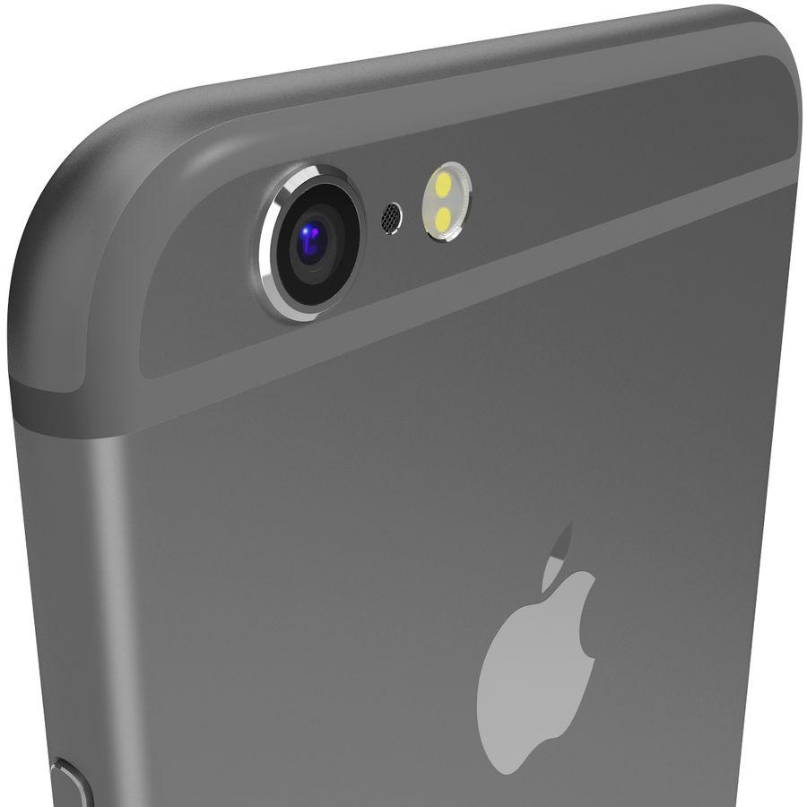 Apple iPhone 6s Espaço Cinzento royalty-free 3d model - Preview no. 8