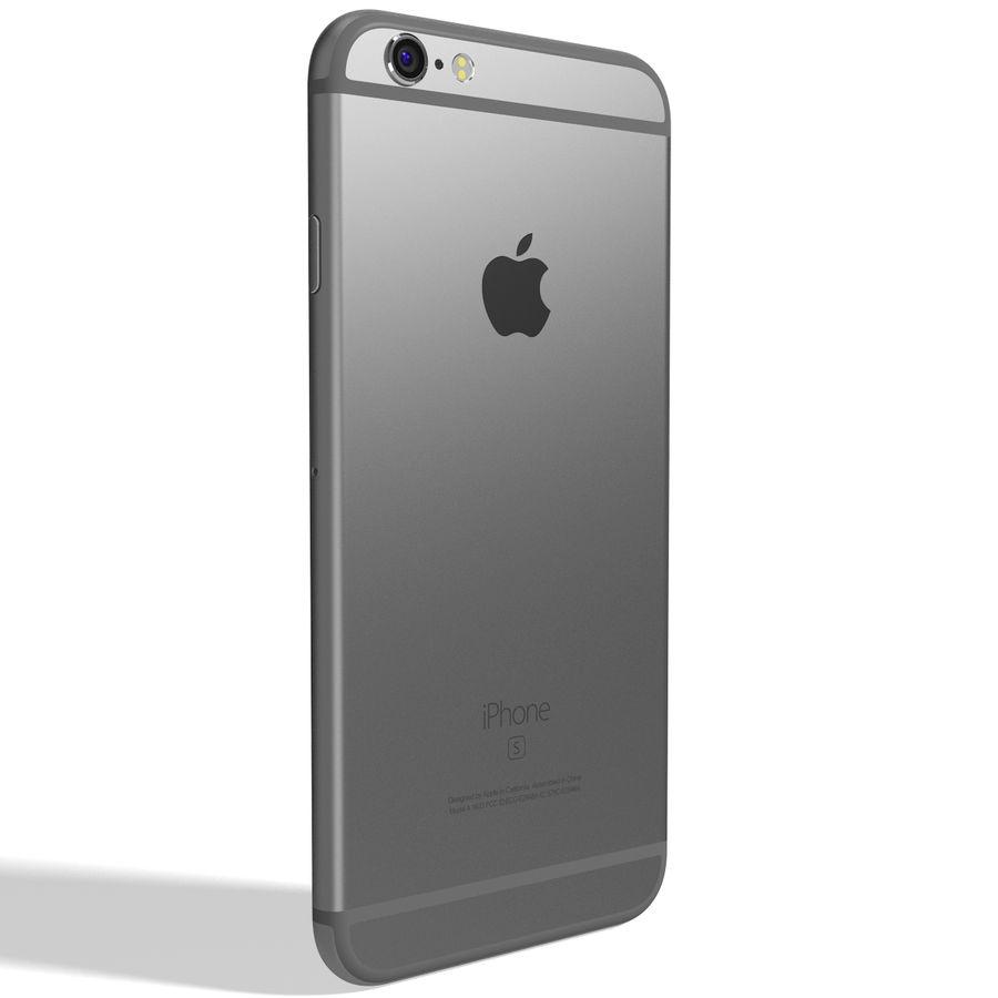 Apple iPhone 6s Espaço Cinzento royalty-free 3d model - Preview no. 6