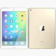 Apple iPad Mini 4 Gold 3d model