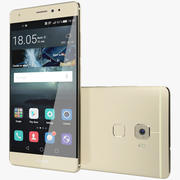 Huawei Mate S Gold 3d model