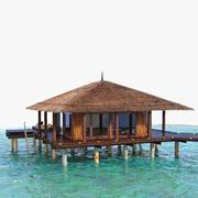 Beach Resort Hut 3d model