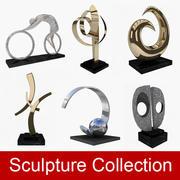 Collezione di sculture 3d model