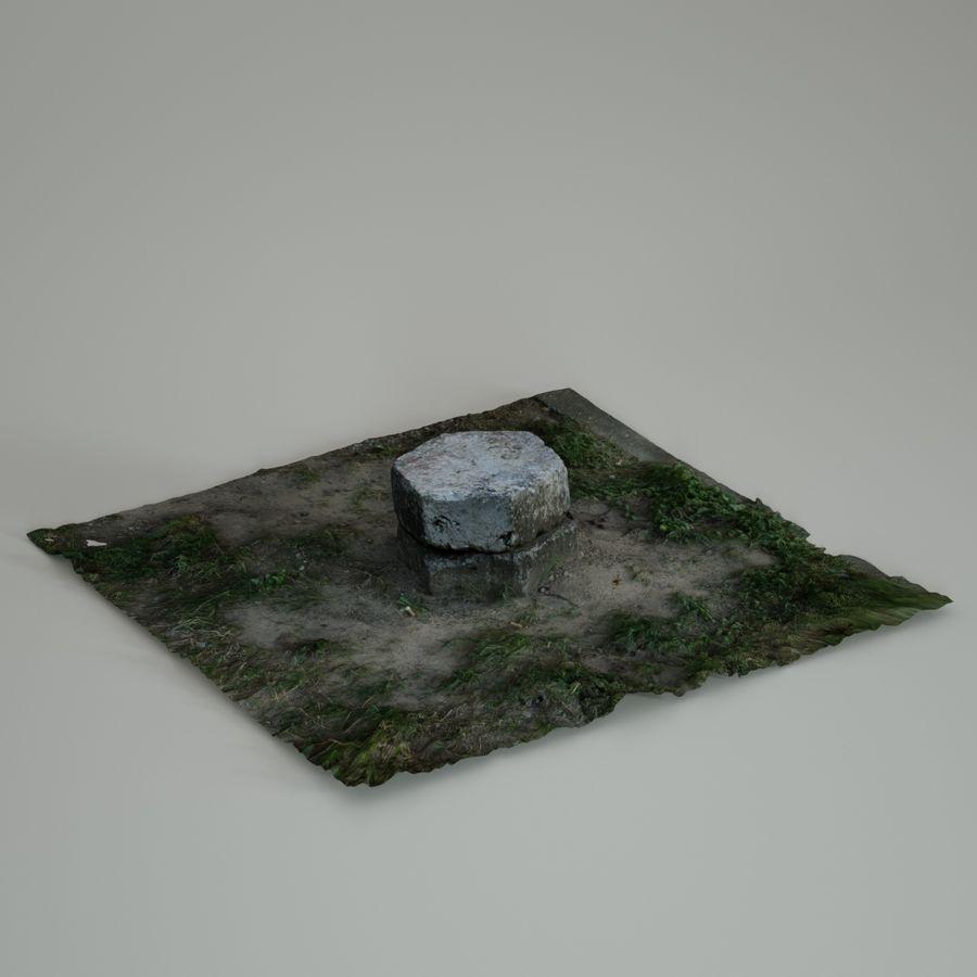 Каменная трава 3d Scan royalty-free 3d model - Preview no. 17