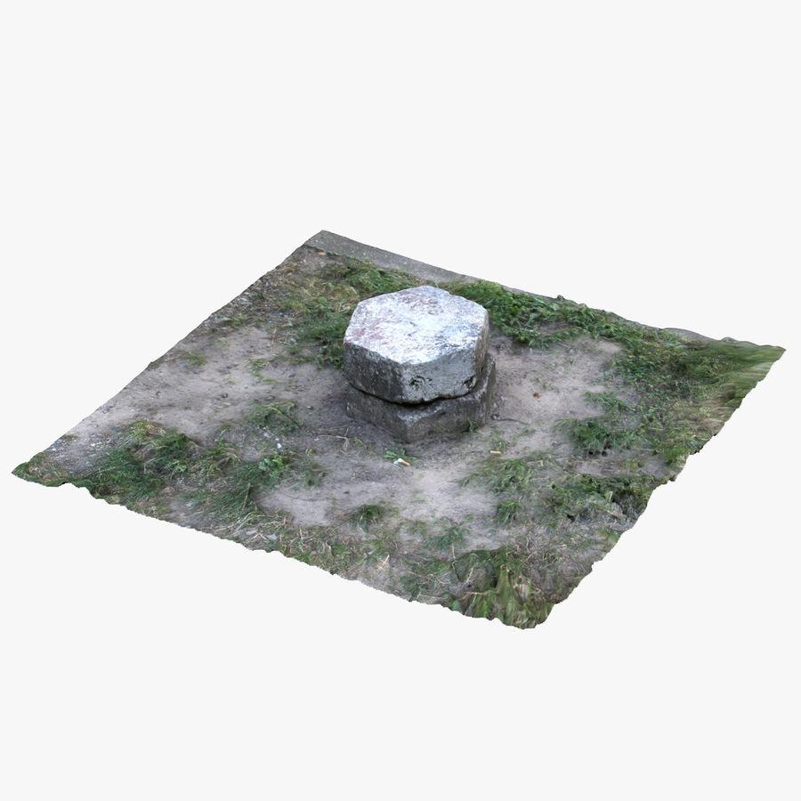Каменная трава 3d Scan royalty-free 3d model - Preview no. 3