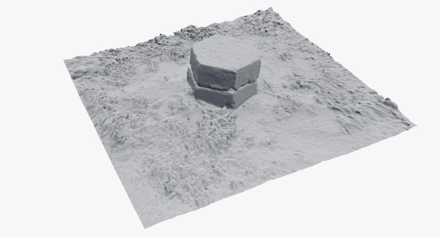 Каменная трава 3d Scan royalty-free 3d model - Preview no. 33