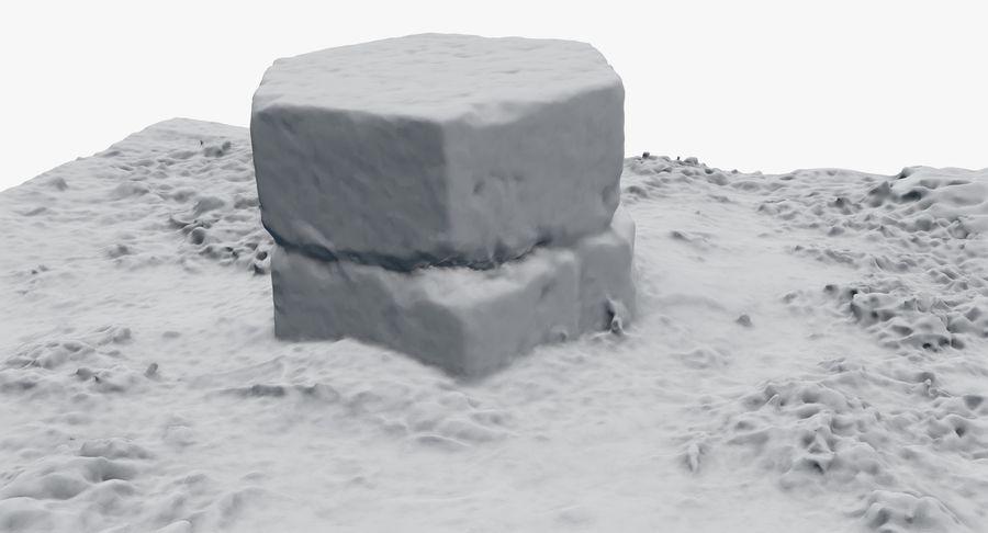Каменная трава 3d Scan royalty-free 3d model - Preview no. 36