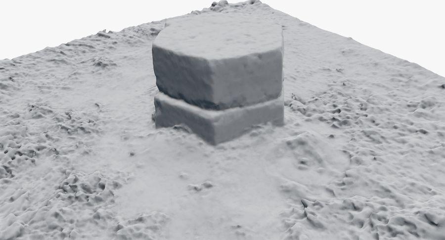 Каменная трава 3d Scan royalty-free 3d model - Preview no. 34