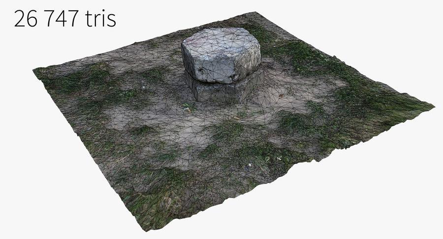 Каменная трава 3d Scan royalty-free 3d model - Preview no. 24