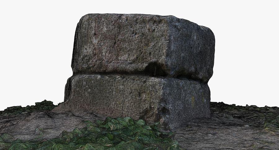 Каменная трава 3d Scan royalty-free 3d model - Preview no. 32